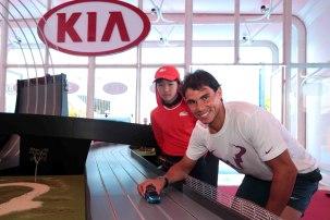 Rafael Nadal Australia Kia Fleet Handover (6)