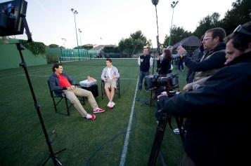 Rafael Nadal Cristiano Ronaldo Nike Intrview (11)