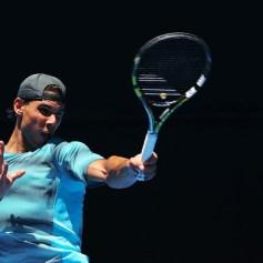 Rafael Nadal practising Australian Open 2014 (11)