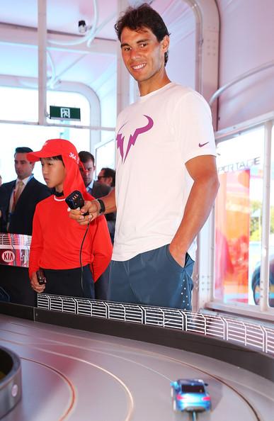 Rafael+Nadal+2014+Australian+Open+Kia+Handover1