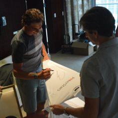 Behind the scenes: Rafa and Carlos Costa (Photo: pokerstars.com)