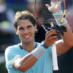 Nadal beats Ginepri Roland Garros 2014 2