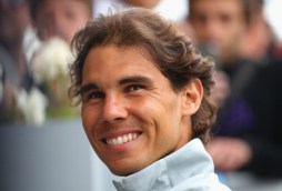ROME, ITALY - MAY 13: Rafael Nadal of Spain talks to media during day three of the Internazionali BNL d'Italia tennis 2014 on May 13, 2014 in Rome, Italy. (Photo by Julian Finney/Getty Images)