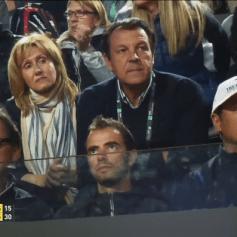 Rafael Nadal Team in Rome 2014