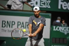 Rafael Nadal's first practice at Roland Garros 2014 (5)