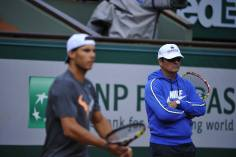 Rafael Nadal's first practice at Roland Garros 2014 (9)