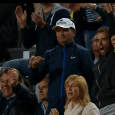 Team Nadal Rome 2014 SF