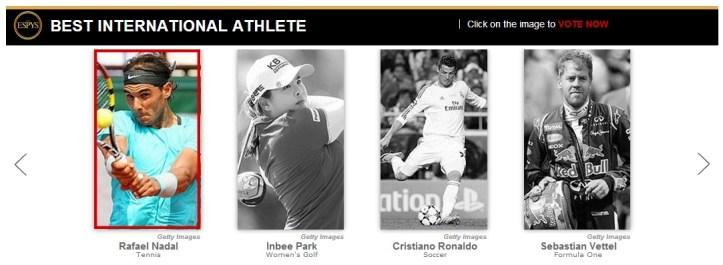 Rafael Nadal ESPY Awards