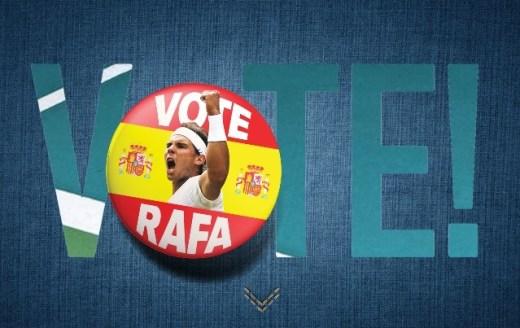 Fan Favorites - Vote for Rafael Nadal Fans