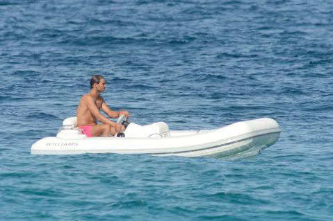 Rafael Nadal enjoys holiday with girfrliend Maria Francisca Perello (12)