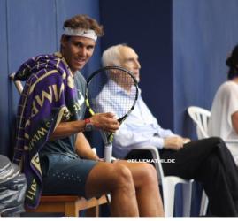 Rafael Nadal practices in Mallorca 2014 (3)