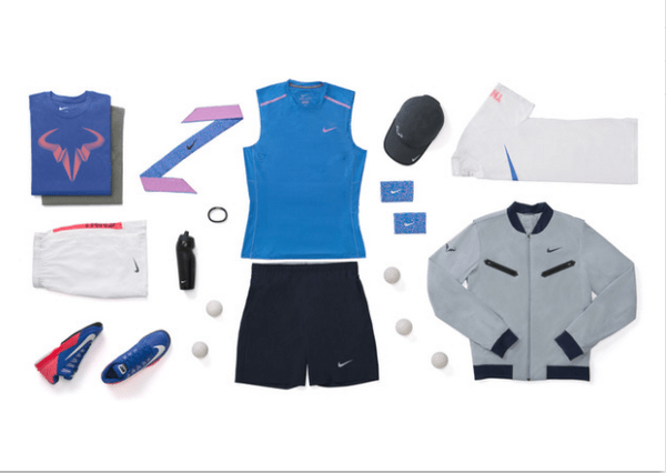 Rafael Nadal Nike outfit US Open 2014