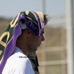 Rafael Nadal practices in Manacor - wrist injury (1)