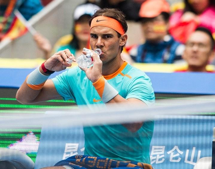 Rafael Nadal beats Richard Gasquet at the China Open 1