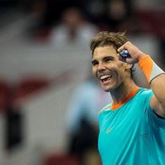 Rafael Nadal beats Richard Gasquet at the China Open 4