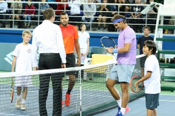 Rafael Nadal v Jo-Wilfried Tsonga Kazakhstan exhibition (13)