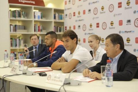 Rafael Nadal v Jo-Wilfried Tsonga Kazakhstan exhibition (20)