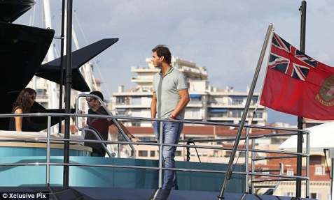 Rafael Nadal and his girlfriend Maria Francisca Perello in Cannes France (10)