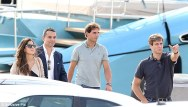 Rafael Nadal and his girlfriend Maria Francisca Perello in Cannes France (2)