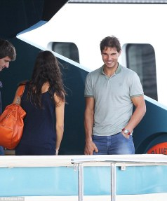 Rafael Nadal and his girlfriend Maria Francisca Perello in Cannes France (3)