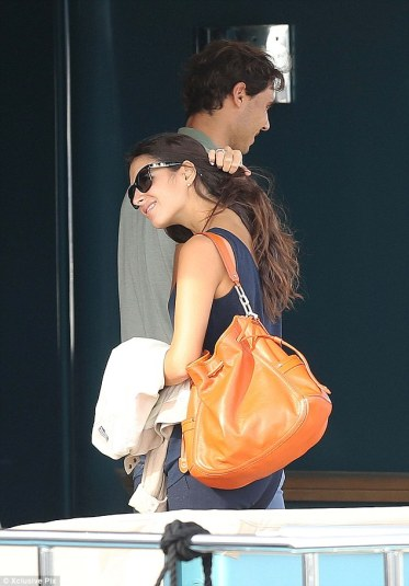 Rafael Nadal and his girlfriend Maria Francisca Perello in Cannes France (9)