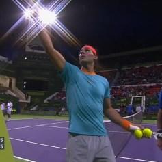 Nadal Monaco Doha Doubles Final 2015