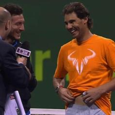 Rafael Nadal and Juan Monaco won Doha doubles title