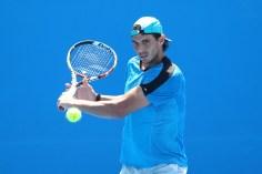 Rafael Nadal practice Australia 2015 (12)