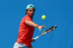 Rafael Nadal practice Australia 2015 (3)
