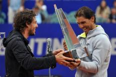 Gaston Gaudio and Rafael Nadal Argentina Open 2015
