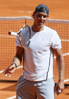 Rafael Nadal first pratice in Madrid 2015 (5)