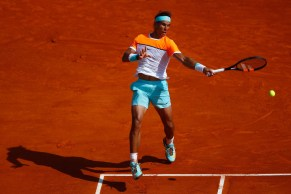 Rafael Nadal plays against David Ferrer in Monte Carlo QFs 2015 (2)