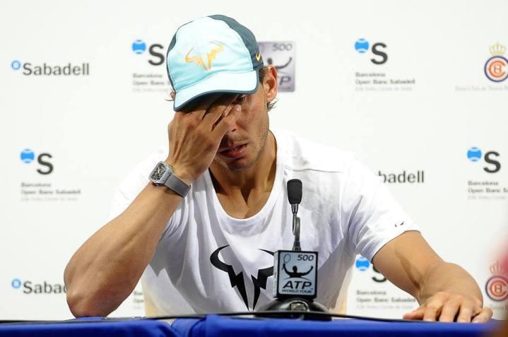 Rafael Nadal Press Conference After Loss to Fabio Fognini at Barcelona Open