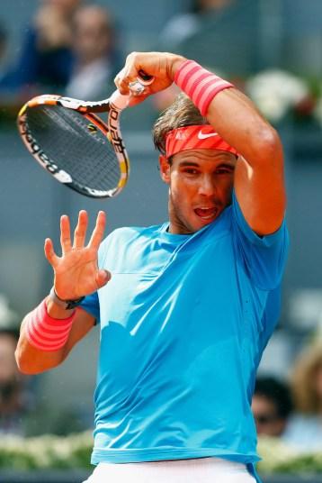 Rafael Nadal beat Steve Johnson 6-4 6-3 at Madrid Open (3)