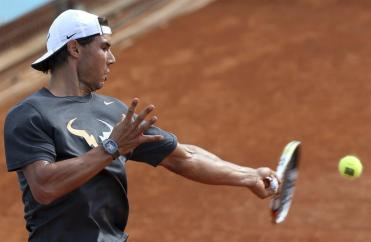 Rafael Nadal practices at Madrid Open (6)
