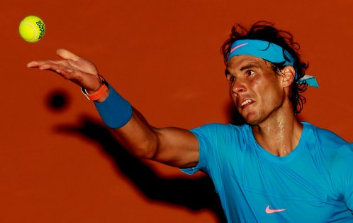 Tennis - French Open - Roland Garros, Paris, France - 1/6/15 Men's Singles - Spain's Rafael Nadal in action during his fourth round match Action Images via Reuters / Jason Cairnduff Livepic