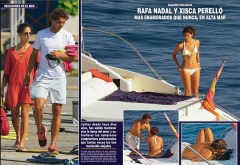 The love boat Rafael Nadal and girlfriend Maria Francisca Perello