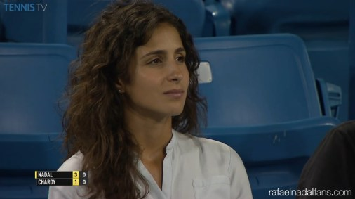 Rafael Nadal girlfriend Maria Francisca Perello Cincinnati 2015