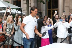 NEW YORK, NY - AUGUST 27: Tennis Player Rafael Nadal attends the Ping Pong Party celebration honoring Rafael Nadal at The New York Palace Hotel on August 27, 2015 in New York City. (Photo by Steve Zak Photography/FilmMagic)