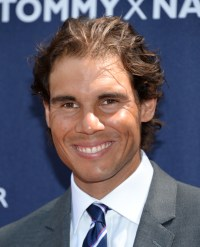 Professional tennis player Rafael Nadal attends the Tommy Hilfiger Global Brand launch tennis event on Tuesday, Aug. 25, 2015, in New York. (Photo by Evan Agostini/Invision/AP)