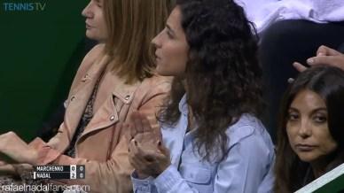 Rafael Nadal novia Maria Francisca Perello en Doha SF Qatar Open