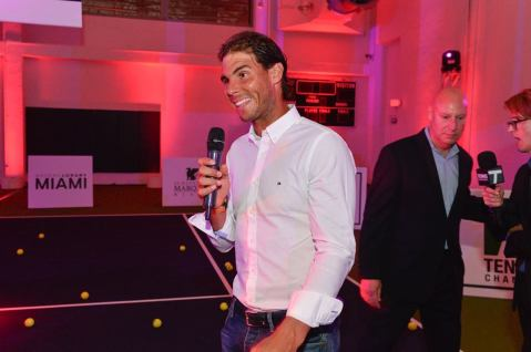 Rafael Nadal Attends 2016 Miami Open Player Party (6)