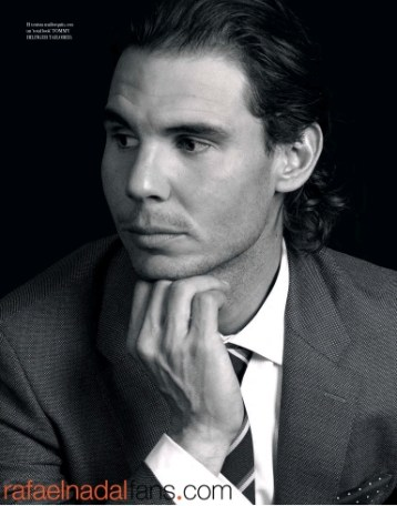 Rafael Nadal Graces The Pages Of El Pais Icon