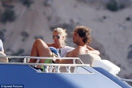 Rafael Nadal continues recovery from wrist injury on holiday with girlfriend Maria Francisca Perello (4)