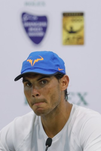 Shanghai Masters An Interview With Rafael Nadal October 12 2016 Rafael Nadal Fans