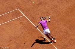 Rafael Nadal advances in Rome as Nicolas Almagro quits (3)