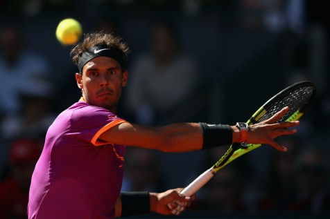Rafael Nadal to face Nick Kyrgios at Madrid Open after win over Fabio Fognini (19)