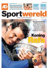 Rafael Nadal covers Sportwereld