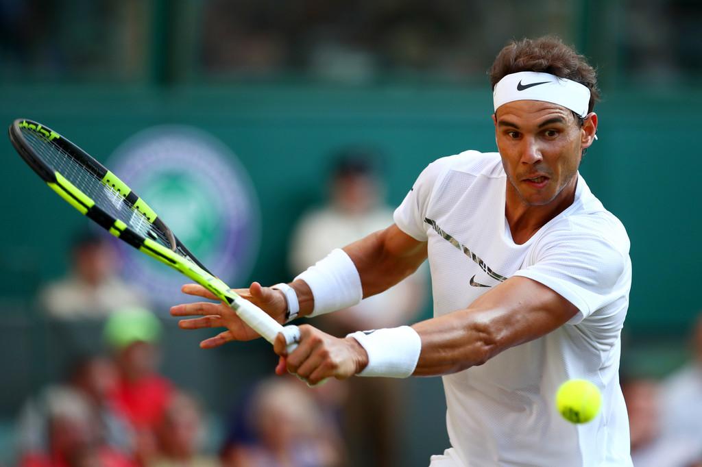 PHOTOS: Rafael Nadal beats Donald Young to reach Wimbledon ...