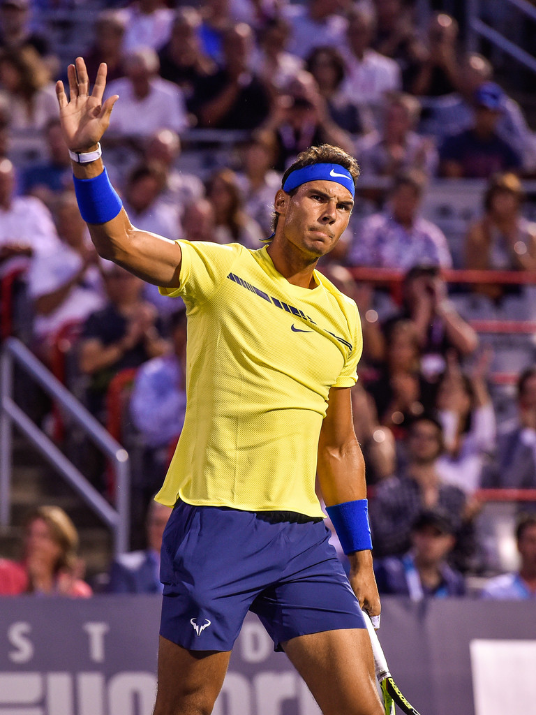 Denis Shapovalov Shocks Rafael Nadal In Montreal Photos Rafael Nadal Fans